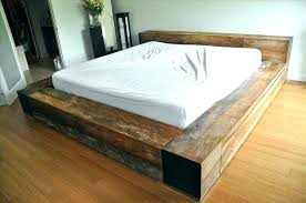 Build Platform Bed Platform Bed Stupendous Platform Bed With Drawers Plans