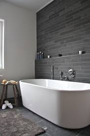 Black And White Bathroom Decorating Ideas by Best 25 Grey Bathroom Tiles Ideas On Pinterest Grey Large