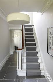 Interior Stair Lights Lovable Hallway Stairs Lighting Ideas Mounted On Plain Board