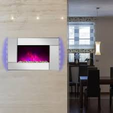Electric Fireplace Wall by Home Decorators Collection Matias 36 In Glass Front Wall Stand