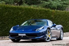 Ferrari 458 Colors - photo shoot ferrari 458 italia in tdf blue crema teamspeed com