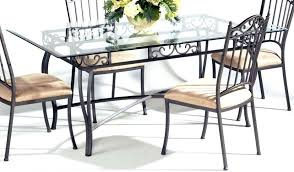 Chairs With Metal Legs Rectangular Glass Dining Table Base En Rectangle For 6 Uk Top With