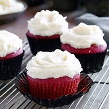 real red velvet cupcake recipe