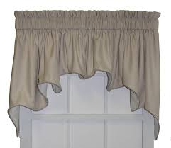 Solid Color Valances For Windows Hampton Bay Solid Color Lined Duchess Swags Valance Window Curtain