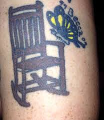 Jesus Has A Rocking Chair Rocking Chair Butterfly Tat On Arm My Tattoos Pinterest
