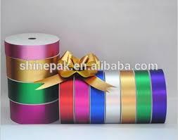 plastic ribbon factory hot sale metallic plastic ribbon rolls for gift packing