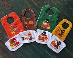 thanksgiving bib my 1st thanksgiving etsy