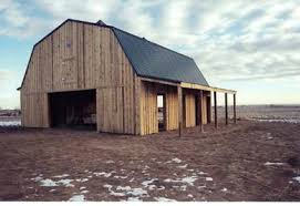 Gambrel Roof Pole Barn Plans Storage And Farm Buildings Designed To Meet Your Needs