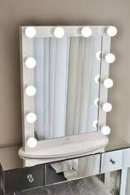 hollywood makeup mirror with lights hollywood makeup vanity mirror white with dimmer tabletop or wall