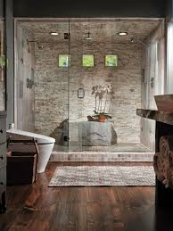 Walk In Shower Designs by Interiors By Mandeville Canyon Designs