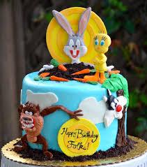 looney tunes cake children u0027s birthday cakes looney