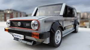 lego volkswagen beetle lego volkswagen golf mk1 gti needs to happen
