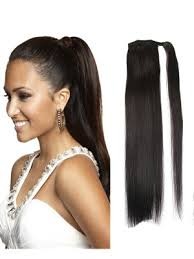 clip on ponytail 6 unprocessed human hair ponytail extension