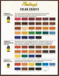 dyes and colors charts kentuckyleatherandhides