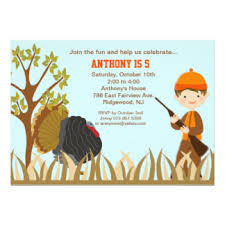 turkey hunting cards greeting u0026 photo cards zazzle