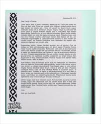 christmas letter template 9 free word pdf psd documents