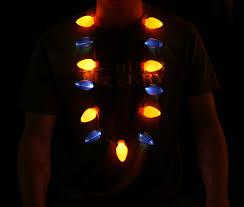 led bulb necklace central
