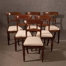 Regency Dining Chairs Mahogany Antique Dining Chairs Set Of 6 Quality Mahogany Regency English