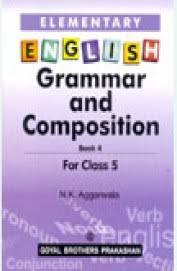 buy elementary english grammar u0026 compossition for class 5 book