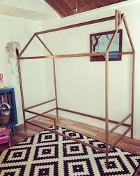 modern house twin bed frame welded metal bed frame for a twin size