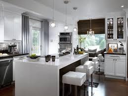 kitchen window curtains designs white kitchen decorating ideas from hgtv hgtv