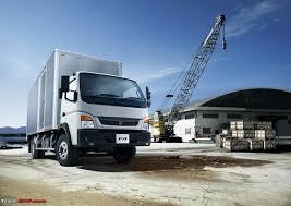 mitsubishi trucks mitsubishi fuso trucks to roll out from dicv chennai plant for