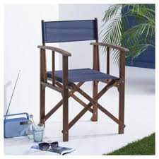 Tesco Armchairs Buy Folding Garden Directors Chair Navy From Our Outdoor Chairs