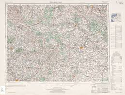 Rennes France Map by