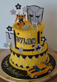 transformer cake bumblebee transformer birthday party ideas liviroom decors