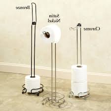 floor free standing toilet tissue holder paper laferida com