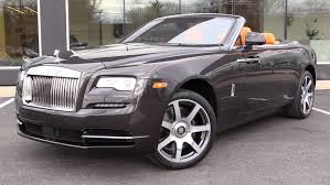 roll royce dawn black 2016 rolls royce dawn start up exhaust and in depth review youtube