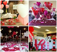 Valentine Decoration Ideas For Party by Terrific Light And Balloon Decoration Idea For Parties
