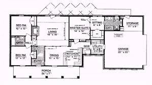 ranch style homes floor plans floor plan luxury style house back pictures concept around