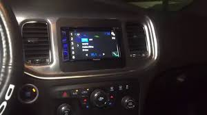 touch screen radio for dodge charger dodge charger custom din up top radio install