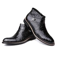 mens brown leather motorcycle boots online get cheap fly ankle boots aliexpress com alibaba group