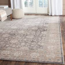 Safavieh Rugs Safavieh Sofia Vintage Light Grey Beige Distressed Rug