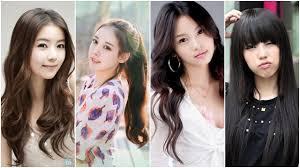 korean hairstyle girls long hair korean girls hairstyle long wavy