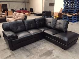 Black Corner Sofas Brand New Black Leather Corner Sofa In Bury Manchester Gumtree