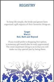 gift registry for weddings wedding invitation wording gift registry awesome wording for