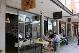 coffee door u0026 spacious modern coffee cafe shop retail design idea