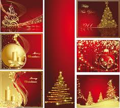 christmas cards free a variety of christmas background vector greeting cards free