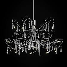 Chandelier Light Fixtures by Led Chandelier Lighting Artika