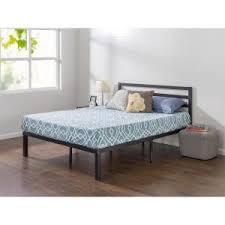 Platform Bed Frame With Headboard Zinus Quick Lock 14 In Queen Metal Platform Bed Frame With