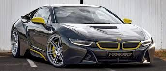 Bmw I8 911 Back - want a more extreme bmw i8 manhart has your back