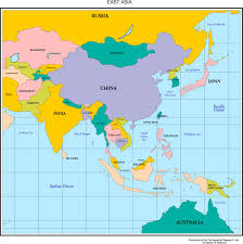 Map Of Asia Countries by Asia Map Of Asia And Australia And Pacific Spainforum Me