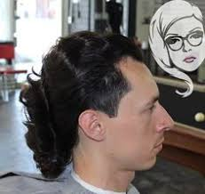 mullet one haircuts for crazy men crazy hairstyles for man