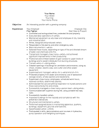 Sample Resume For Firefighter Position by 49 Lpn Resume Templates Lpn Resumes Skills Professional