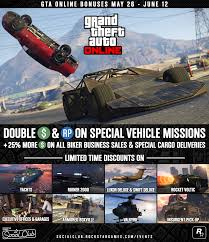 unique garages gta online bonuses double gta u0026 rp opportunities limited time