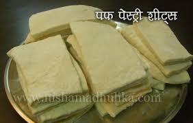 puff sheets puff pastry sheets recipe nishamadhulika