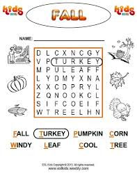 fall activities games and worksheets for kids